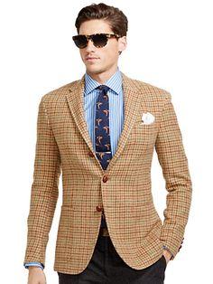 Polo Houndstooth Sport Coat - Polo Ralph Lauren Sport Coats - RalphLauren.com