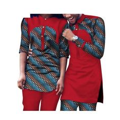Dashiki African Clothing Matching Style For Couple Men and Women Top-Pants Couples African Outfits, African Dresses Men, African Fashion Ankara, Latest African Fashion Dresses, African Print Fashion, Africa Fashion, African Wear Styles For Men, African Shirts For Men, African Attire For Men