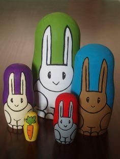 Rabbit Nesting Dolls