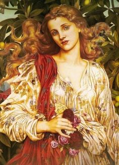 Evelyn de Morgan - she's in my living room. Love her~~~