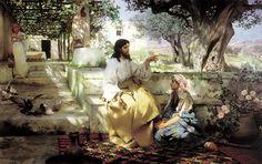 СЕМИРАДСКИЙ Генрих - Христос у Марфы и Марии