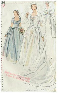 1950s wedding dresses €€€€€.....http://www.pinterest.com/peggyw6/brides/ .....€€€€€€€€€€€€€€€€€€€€€€€€€€€