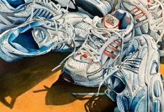"""Tools of the Trade by Lori Pitten Jenkins Watercolor ~ 14"""" x 20"""""""