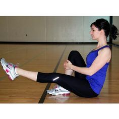 Pilates Single-Leg Lifts - 25 Most Deceiving Exercises (They Tone More than You Think!) - Shape Magazine - Page 13 Best Workout For Women, Best Abs, Six Pack Abs, Leg Lifts, Easy Workouts, Workout Tips, Workout Plans, Physical Fitness, Get In Shape