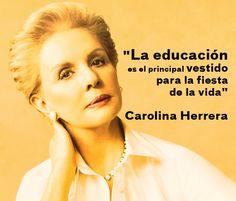 Carolina Herrera...