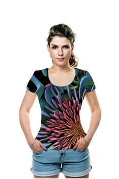 By Lyle Hatch, OArtTee specializes in creating amazing, vibrant and colorful Wearable Art