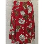 Panel Skirt - Red Batik - IG machine washable rayon viscose www.loco-lindo.com