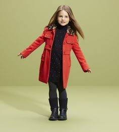 Gucci Red coat & boots