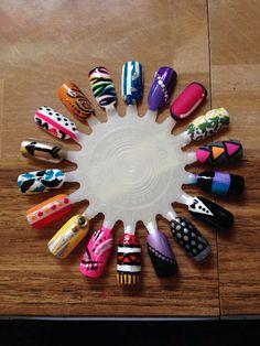 Nail designs! My 23rd nail ring!