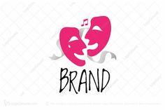 Theatre Drama Logo PREMIUM LOGOS FOR SALE #logo #design #graphicdesign #branding #art #logodesign #logodesigner #logos #designer #graphicdesigner #brand #logodesigns #graphic #creative #marketing #photoshop #illustration #graphics #illustrator #logotype #brandidentity #vector #logodesinger #logoinspiration #logoinspirations #artwork #logomaker #typography #forsale #buy #designlogo #digitalart #webdesign #artist #identity #logotipo #icon #love #brandingdesign #banner #logobrand #connection Logo Branding, Branding Design, Sound Logo, Happy Movie, Happy Logo, Dream Logo, Drama Masks, Education Logo Design, Drama Theatre