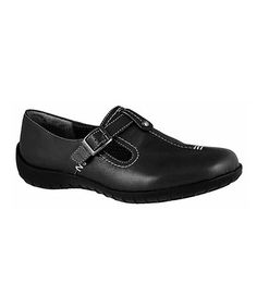 c26bf954e7fc20 Walking Cradles Black Cabrina Leather Shoe
