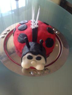 Szonja 5. éves saját készítésű torta