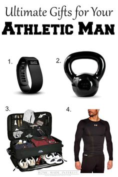 If Your Man Is A Fitness Freak Or An Athletic These Gift Ideas Are Perfect