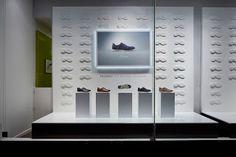 RetailStoreWindows: Clarks, London Retail Windows, Store Windows, Shoe Store Design, Interior Architecture, Interior Design, Shoe Display, Retail Interior, Shop Interiors, Retail Design