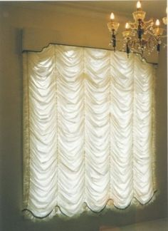Festoon blinds is a decorative window blinds. Learn how to make festoon window blinds. This type of curtain has a Georgian period interior decoration look. You can make your own festoon blinds by following tutorials or get a ready to use festoon blinds.