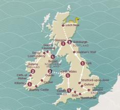 2018 Map of Britian & Ireland EXUKLL Explorer