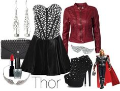 """Thor"" by alexandrabjarg on Polyvore"