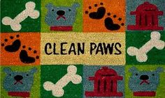 "Clean Paws 17""x29"" Coir with Vinyl Backing by Momentum Mats. $19.99. Traps Dirt and Moisture. Fade Resistant, Color Fast and Weather Tolerant. Makes a Great Gift - Free Gift Enclosure. 100% Natural Coir with Vinyl Backing for Long-Lasting Wear and Durability. In Stock - Ships in 1-2 days. Momentum Mats has been a trusted manufacturer for 28 years and we take great pride in the fact that we use only 100% natural coir and vinyl in our doormats.  Our manufacturin..."