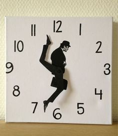 I MUST have the Clock of Silly Walks