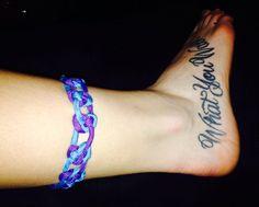 Pretzel knot... And my tattoo