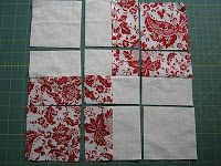 Free Quilt and Quilt Block Patterns: Disappearing 9 Patch, 16 Patch and Twist/Turn Variations