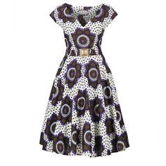 MAKEBA DRESS<br/>chocolate stars