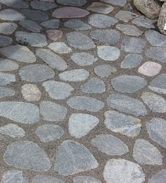 Slices of natural stone, Finland