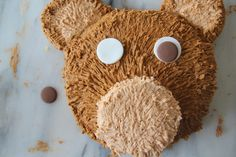 Easy first birthday cake teddy bear birthday cake recipe.