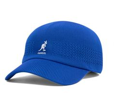 Kangol Tropic Ventair Spacecap Marine by www.lurban.ro .The Ventair Spacecap is Kangol's seamless knit baseball hat. The Ventair pattern allows ventilation air flow for ultimate comfort in spring & summer weather
