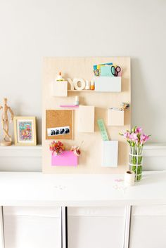 Anthropology wall organizer hack