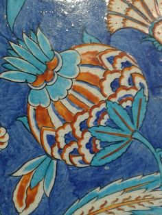 Iznik tile detail