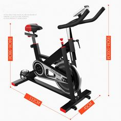 FLBTY Home Spinning Bicycle UltraQuiet Exercise Bike Indoor Exercise Bicycle Fitness Equipment >>> Click photo to assess more information. (This is an affiliate link). Bicycle Workout, Click Photo, No Equipment Workout, Cardio, Exercise, Bike, Ejercicio, Bicycle Kick, Excercise