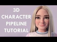 3D Character Workflow For Beginners Tutorial - YouTube
