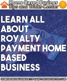 #homebasedbusiness #royaltypayment Make Money From Home, How To Make Money, Home Based Business, Royalty, Learning, Making Money At Home, Making Money From Home, Study, Royals