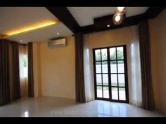 Ready For Occupancy Luxury Home For Sale at Brentville International in Biñan, Laguna Curtains, The Originals, Luxury, Home Decor, Blinds, Interior Design, Draping, Home Interior Design, Window Scarf