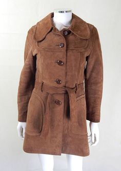 Be unique with original vintage coats from My Vintage. 1970s Jackets, 1970s jacket, vintage jackets, vintage suede jacket, vintage leather jacket.