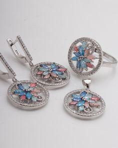 Set argint cod 3-2355, gr16.7 Cod 3, Bracelet Watch, Pendant Necklace, Bracelets, Accessories, Jewelry, Jewlery, Bijoux, Watch