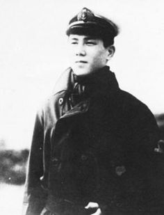 japanese navy pilot junichi sasai,in 1942 he destroyed two P-39s in twenty seconds - Pin it by GUSTAVO BUESO-JACQUIER