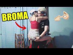 BROMA A MI AMIGA CON CAMARA OCULTA - YouTube