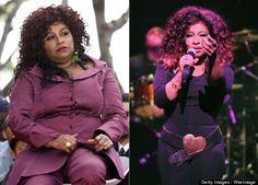Chaka Khan Loses Weight, Resembles Nicki Minaj!  She's 59?  She looks fantastic!