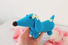 Amigurumi Doll Pattern, Amigurumi Free, Crochet For Kids, Free Crochet, Dou Dou, Cute Dolls, Dinosaur Stuffed Animal, Diy Crafts, Knitting