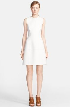 Michael Kors Sleeveless Crewneck Flared Dress available at #Nordstrom