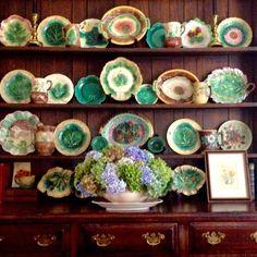 Majolica collection/ Karen E Keysar Interiors Inc