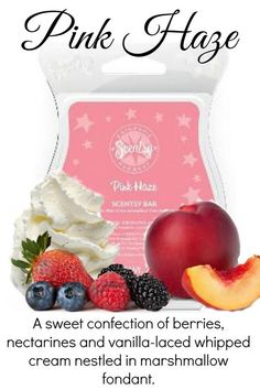 my favourite scent is back! pink haze by scentsy