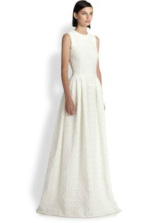 Pin for Later: Les Meilleures Robes de Mariée du Web  Alexander McQueen robe fleurie (4,652€)