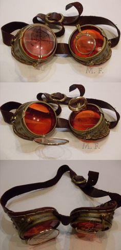 Steampunk goggles by Dunkeljorm on DeviantArt