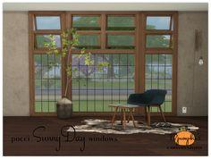 Sims 4 CC's - The Best: Pocci SunnyDay windows by 13pumpkin31