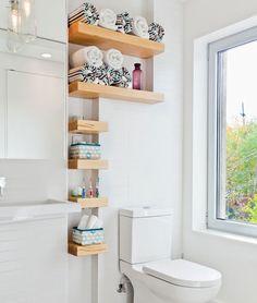DIY Recessed Nook & Cranny Shelves