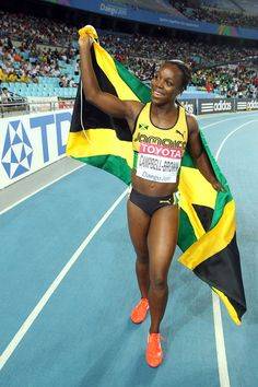 Veronica Campbell Brown. The greatest.