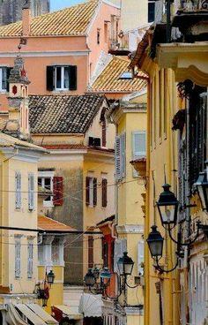Kerkyra Town, Corfu Island, Greece (by Basilis Doukakis)